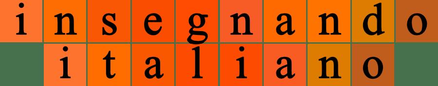 Logo del blog insegnandoitaliano