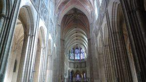 Navata gotica di Saint Germain, Borgogna, Auxerre